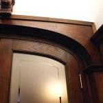 European-oak-curved-head-frame-detail